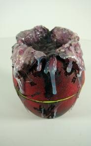 Red Aliens Egg Detail