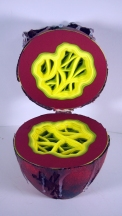 Red Aliens Egg Detail Interior